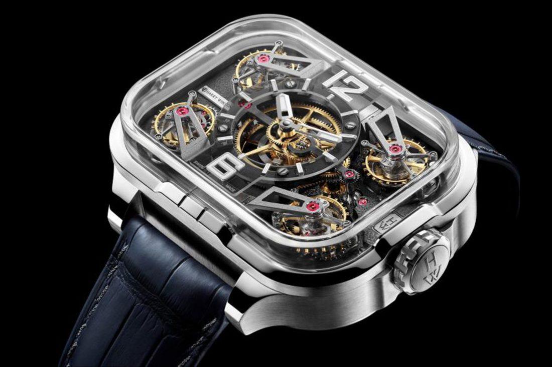 Harry Winston's Histoire de Tourbillon 10 breaks records with four tourbillons in a watch