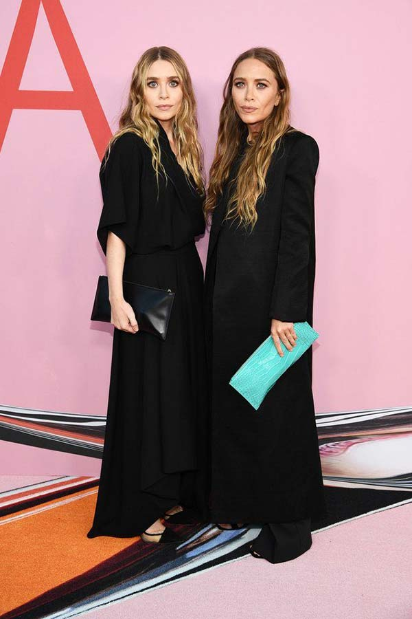 Mary Kate and Ashley Olsen at the 2019 CFDA