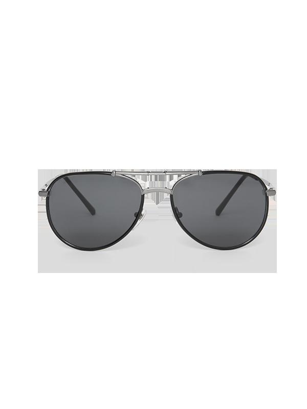 Burberry Folding Pilot Sunglasses