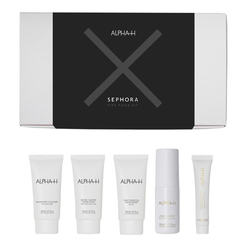 Alpha H X Sephora 5-piece skincare kit
