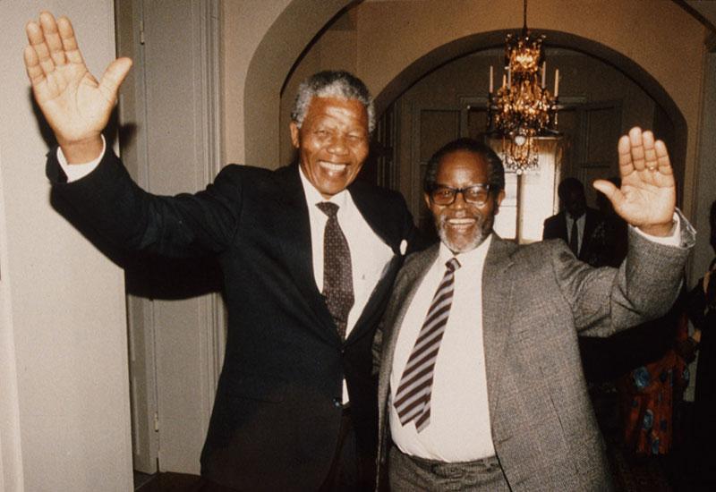 Nelson Mandela and Oliver Tambo