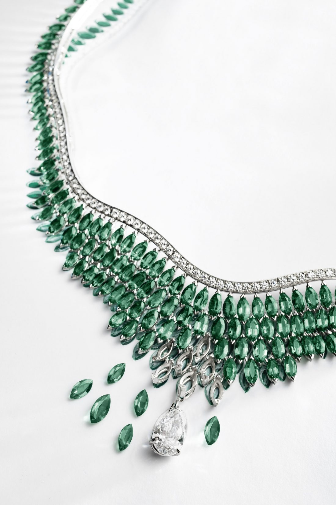 Luxuriant Oasis transformable necklace