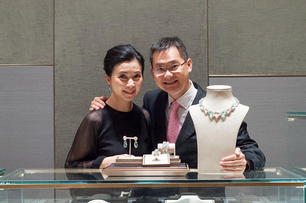 Annie Yau and Tommy Tse