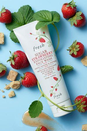 Fresh Sugar Strawberry Exfoliating Face Wash