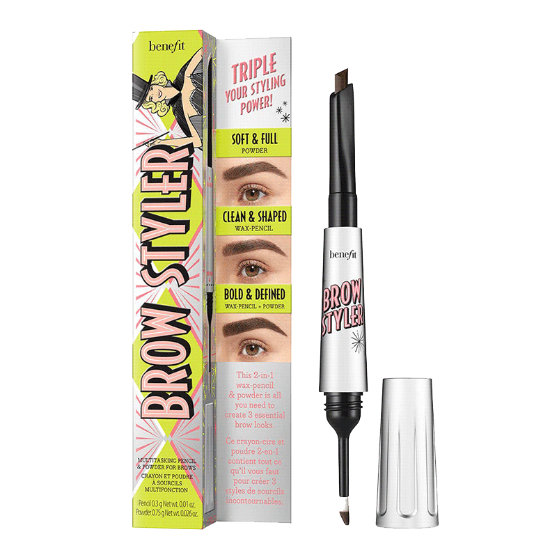 Benefit Cosmetics Brow Styler Multitasking Pencil & Powder For Brows