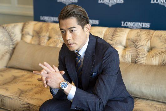 Aaron Kwok Longines Ambassador of Elegance