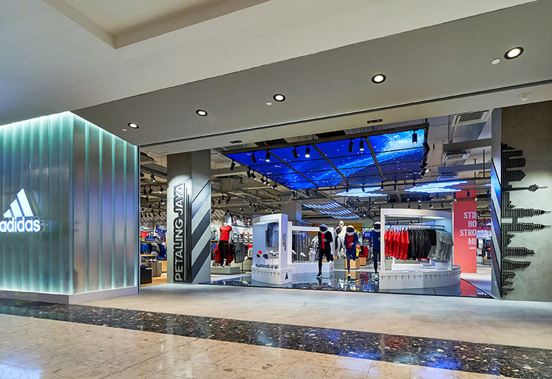 first adidas Brand Center in Malaysia