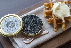 Entier Caviar & Waffle weekend brunch