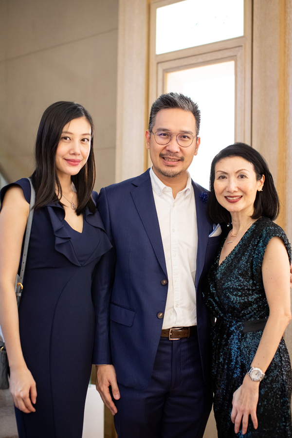Mandy Ling, Gregory Ling and Karen Teh