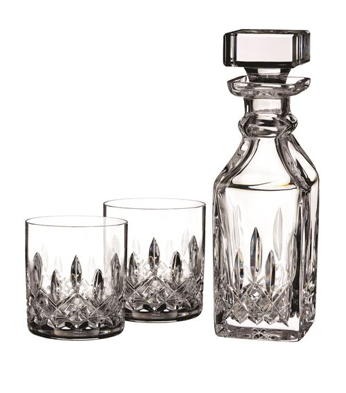 Whisky decanter and glasses set