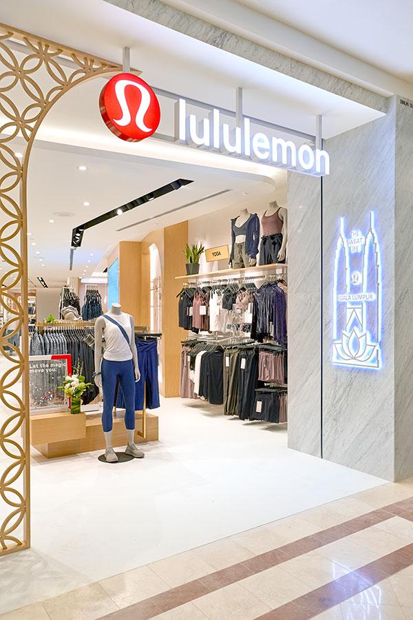 lululemon Suria KLCC store