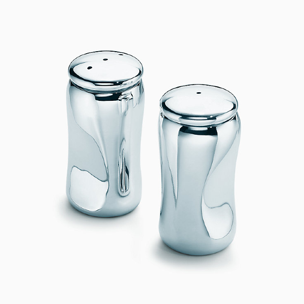Silver Salt and Pepper shaker