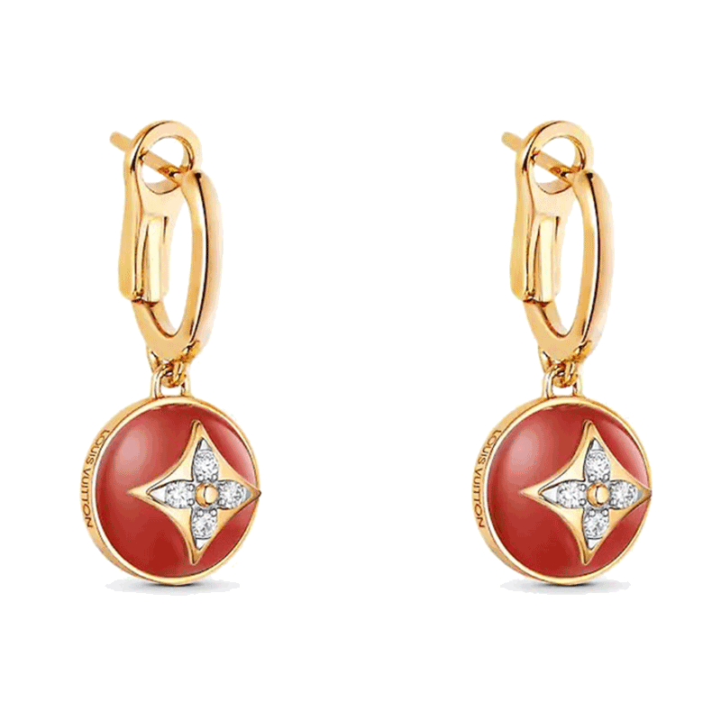 Louis Vuitton B Blossom Earrings