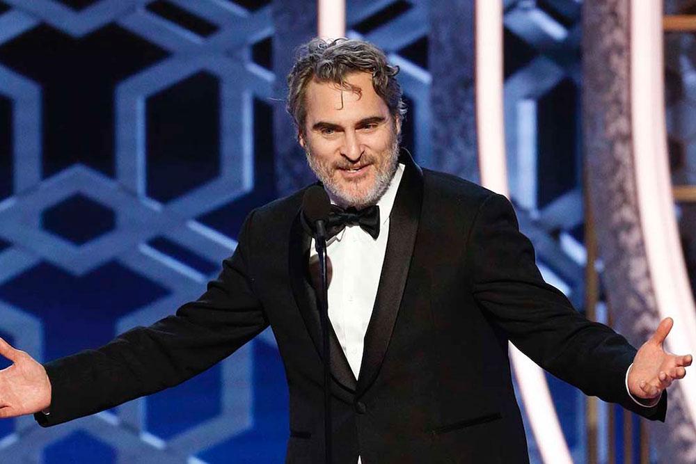 Joaquin Phoenix Golden Globes 2020