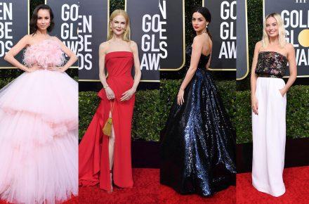 Golden Globes 2020 red carpet