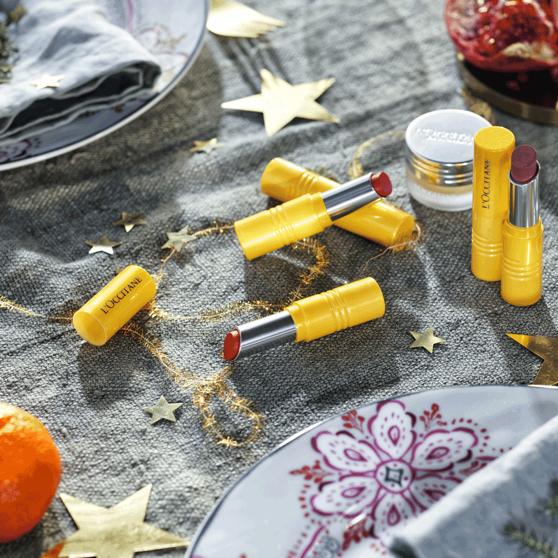 L'Occitane Fruity Lipsticks