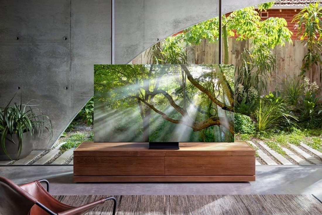 Samsung bezel-less 8K TV