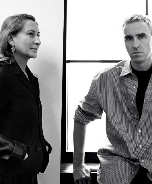 Prada-announces-co-creative-directors_Miuccia-Prada_Raf-Simons