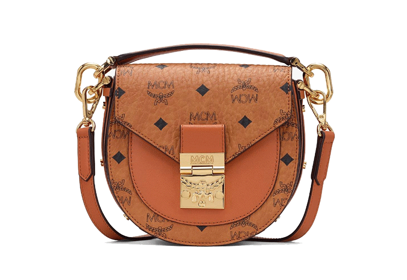 MCM Mini Patricia Mini Shoulder Bag in Visetos