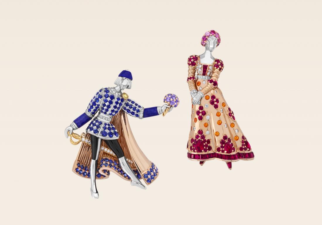 Van Cleef and Arpels Romeo and Juliet