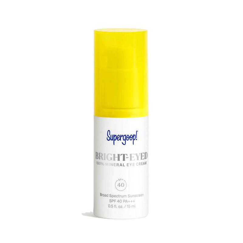 Supergoop! Bright Eyed 100% Mineral Eye Cream SPF40