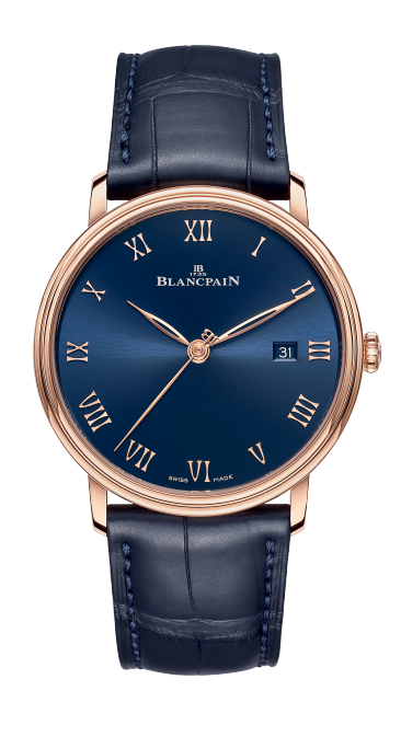 Blancpain Villeret Ultraplate with Alligator Strap