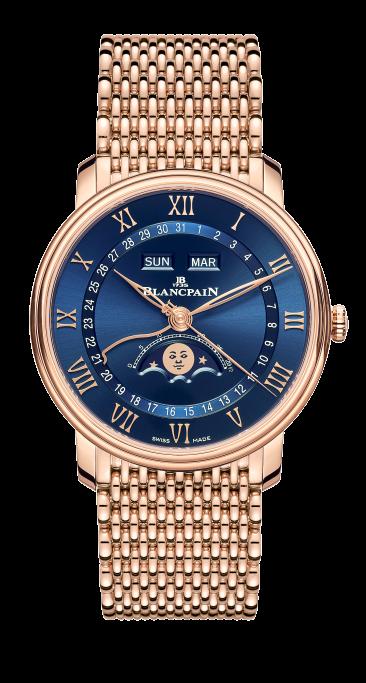 Blancpain Villeret Quantième Complet with Bracelet