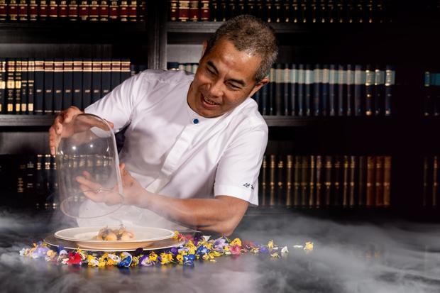 Chef Wai of The Library at The Ritz-Carlton Kuala Lumpur