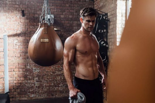 Celebrity fitness apps Chris Hemsworth