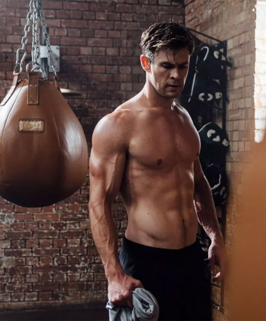 Celebrity fitness apps Chris Hemsworth