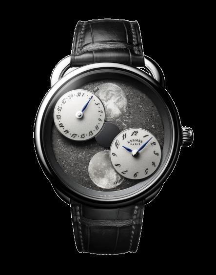 Hermès Arceau L'Heure De La Lune Black Sahara Dial