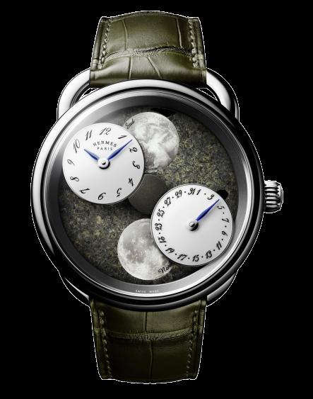Hermès Arceau L'Heure De La Lune Martian Dial