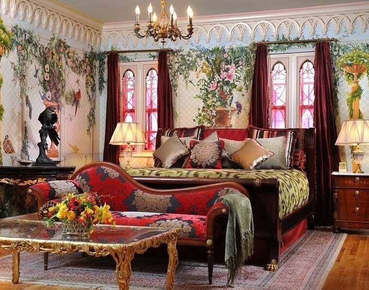 The Aviary Suite, formerly Allegra Versace's Room