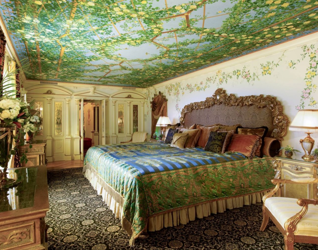 The Venus Suite, formerly Donatella Versace's room