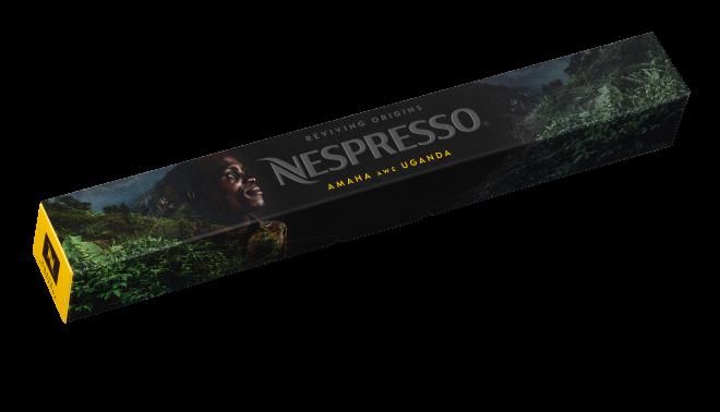 Nespresso Reviving Origins: AMAHA awe UGANDA Capsule Sleeve