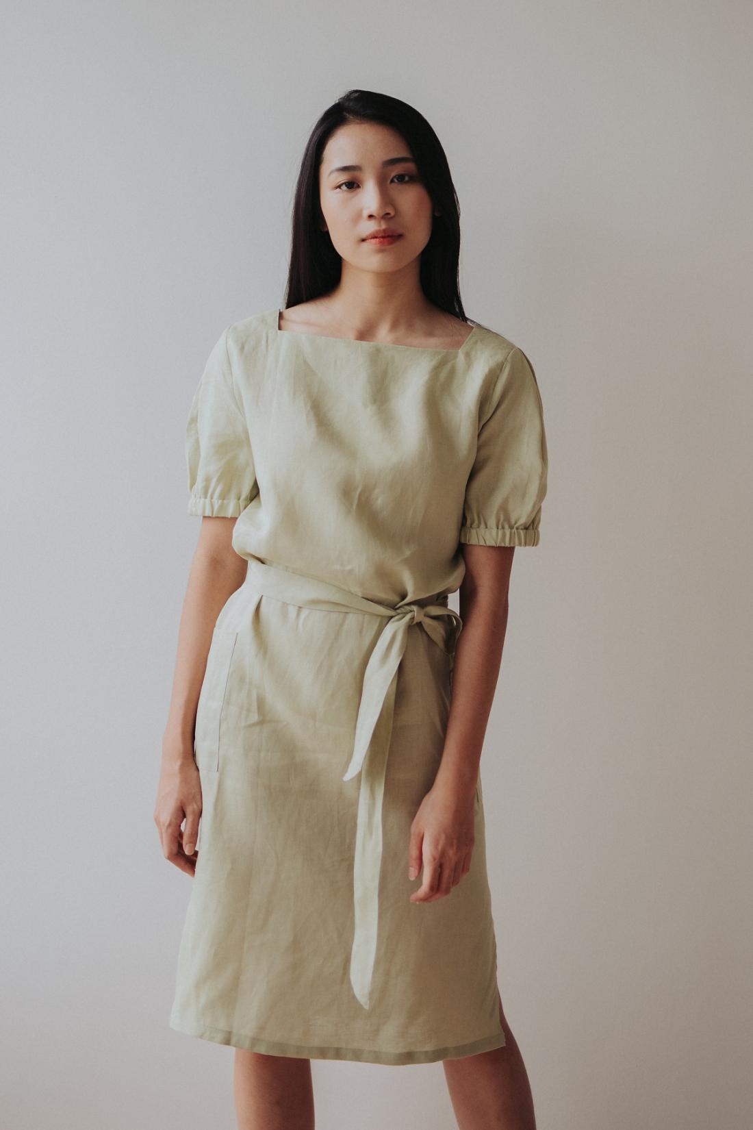 Li's Atelier Two-Way Midi Dress