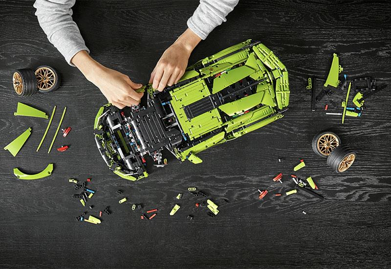 Lamborghini Sián FKP 37 Lego set