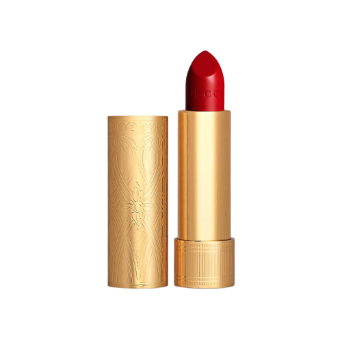 GUCCI Beauty Rouge à Lèvres Satin Lipstick in 25 Goldie Red