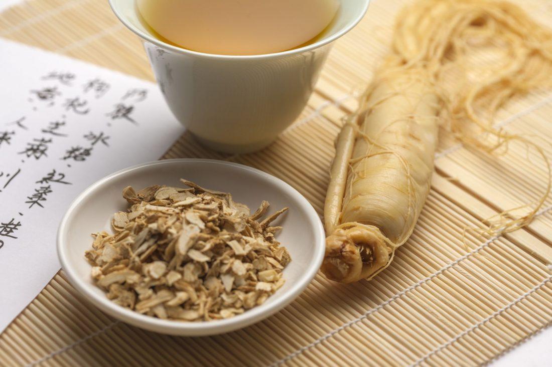 energy boosting ginseng tea