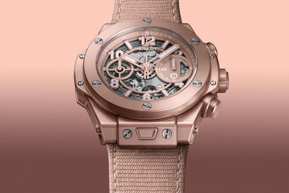 The new Hublot Big Bang Millennial Pink breaks watchmaking gender rules