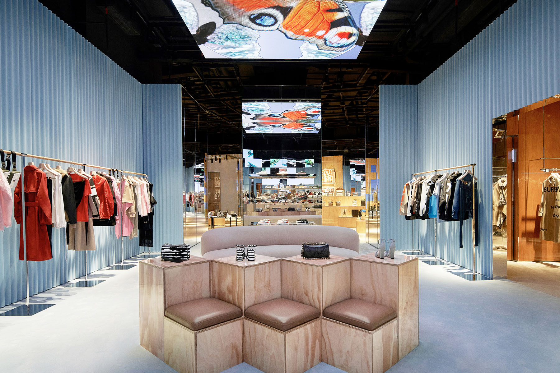 Take a look inside Burberry's first luxury social retail store in Shenzhen
