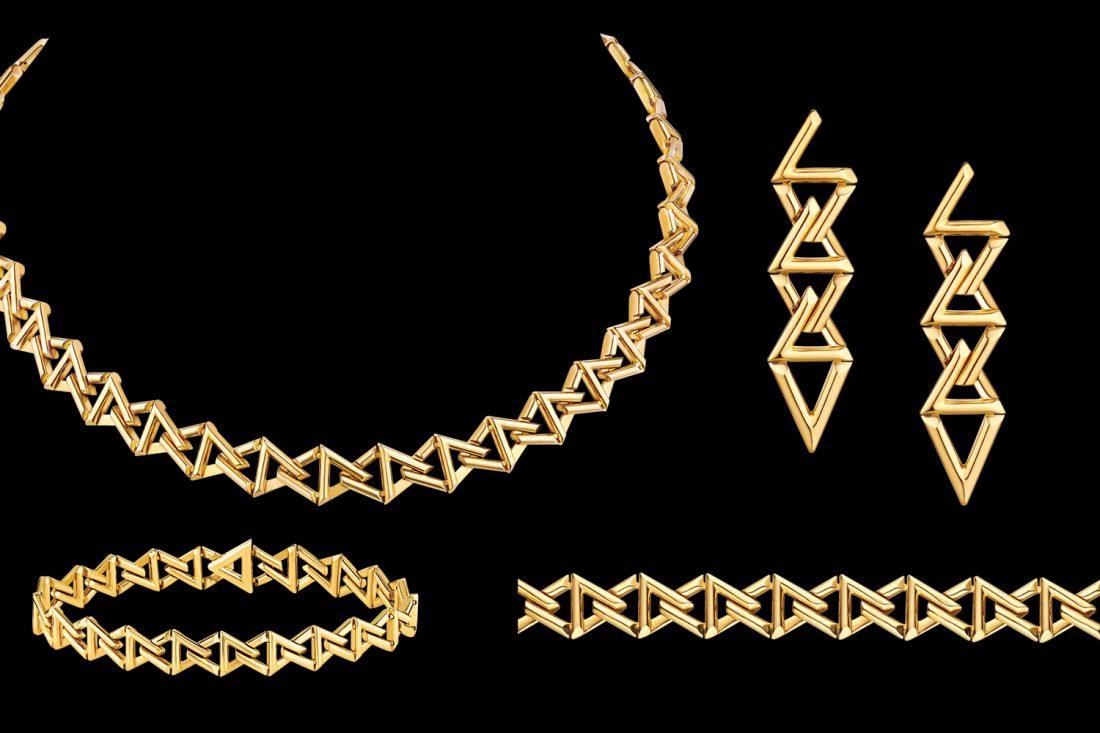 LV Volt Curb Chain