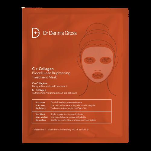Dr. Dennis Gross C+ Collagen Bio-cellulose Brightening Treatment Mask