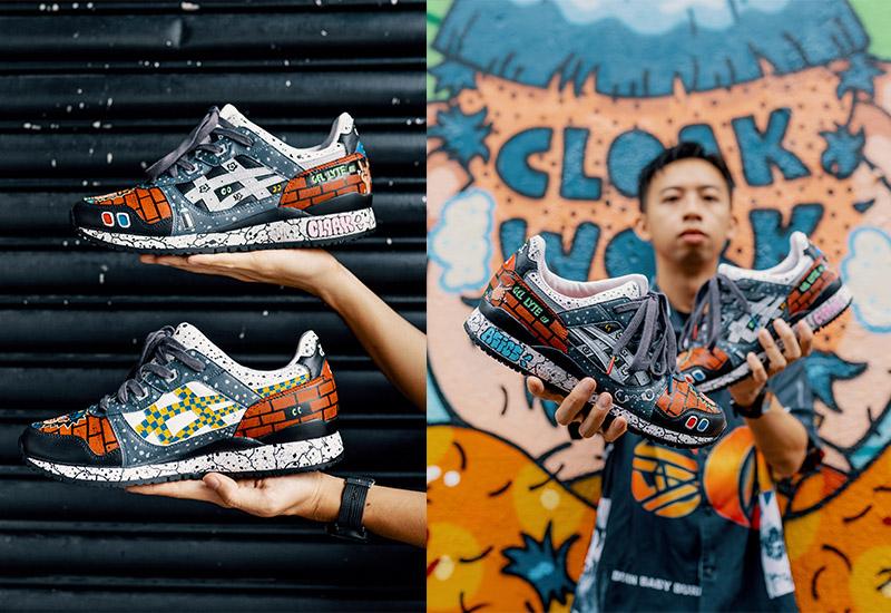 Graffiti artist and illustrator Cloakwork