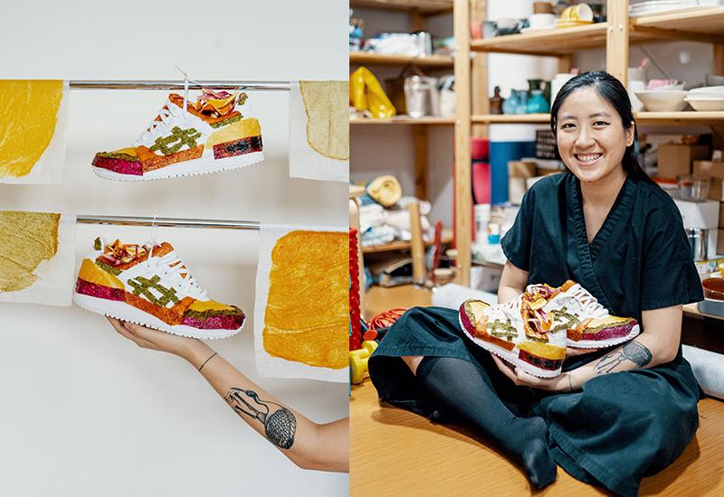 Food stylist and photographer Trisha Toh