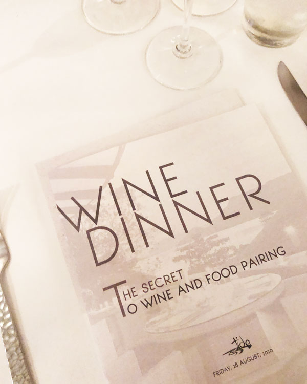 The Secret to Food and Wine Pairing