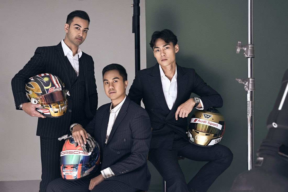 Jazeman Jaafar, Nabil Jeffri and Weiron Tan prove that to go far, you have to go together