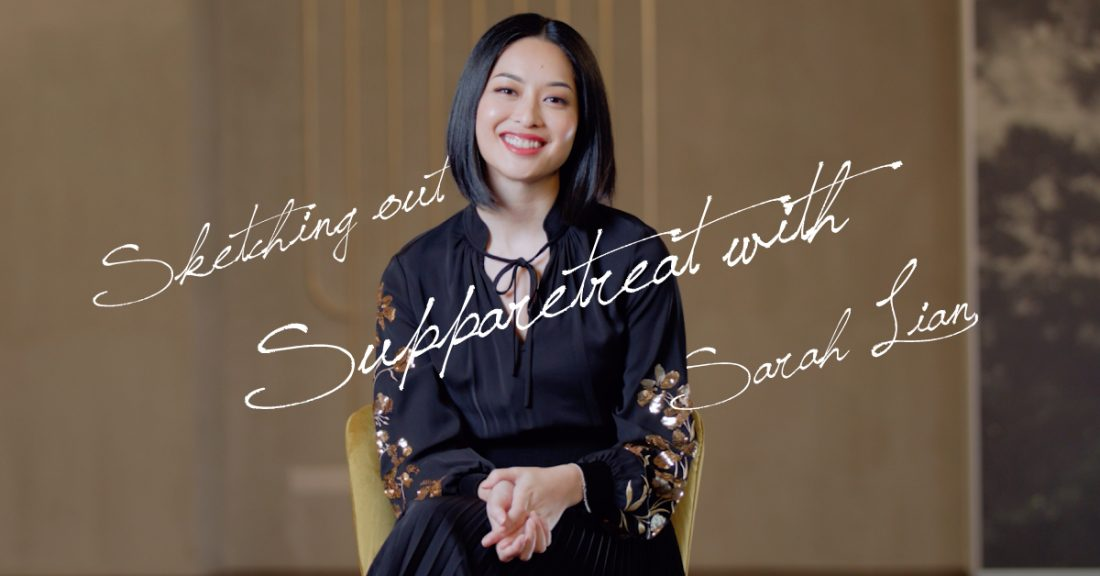 Sketching out Supparetreat with Sarah Lian