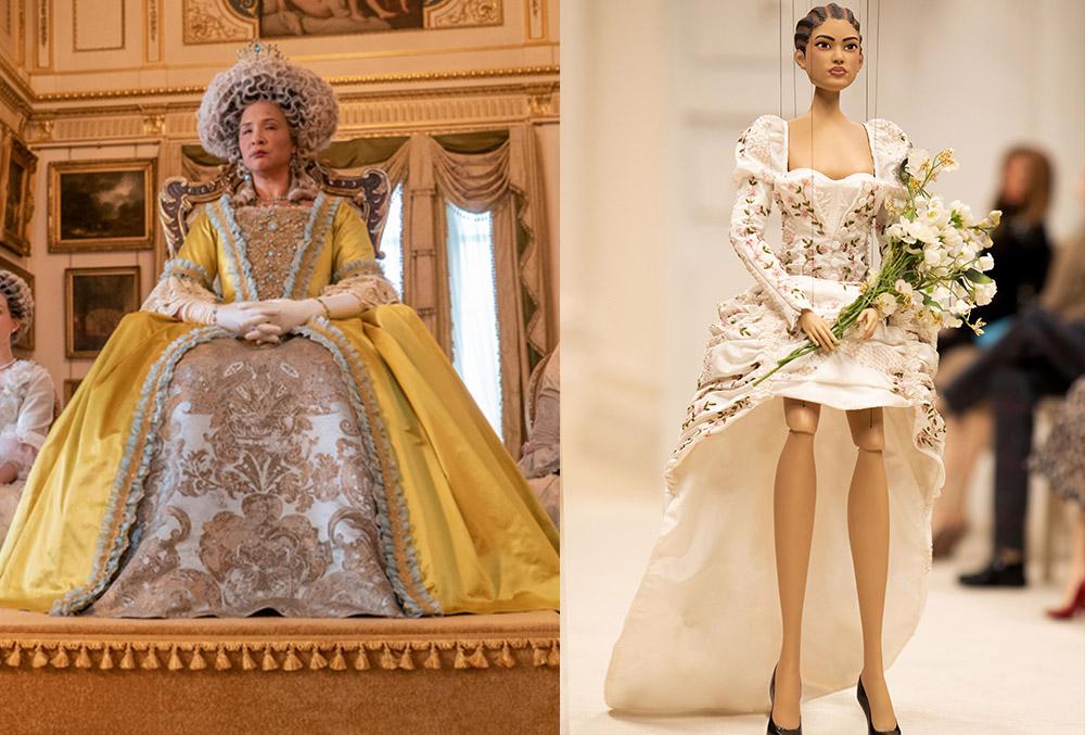 Queen Charlotte's yellow costume