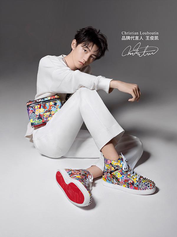 Karry Wang Junkai – Christian Louboutin, Christian Dior
